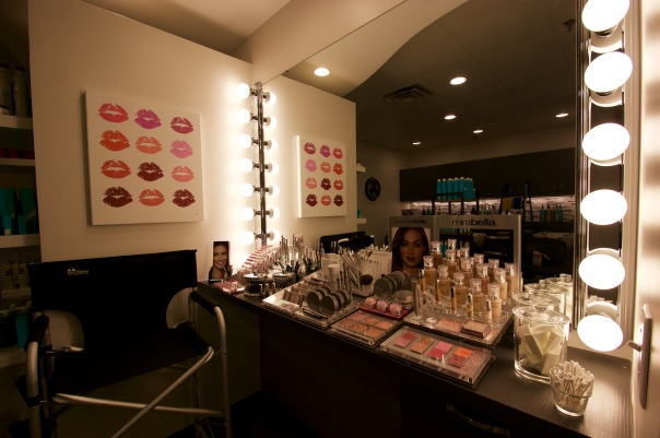 Mirabella Makeup Bar